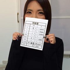 千葉・栄町のソープランド【アラカルト】求人!!【りせ】の給料公開
